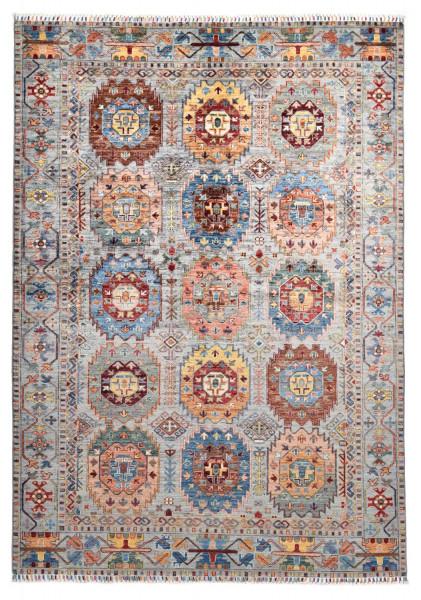 Handgeknüpfter Shawl Teppich aus Ghazni Wolle - Pir Mahal - 177x303cm