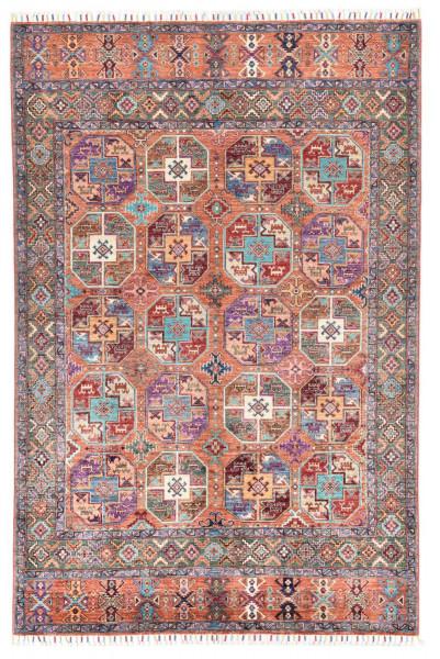 Handgeknüpfter Shawl Teppich aus Ghazni Wolle - Pir Mahal - 172x256cm