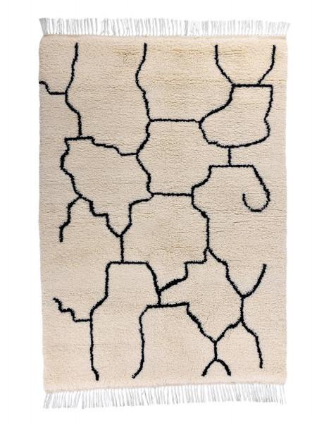 Handgeknüpfter Benni Urein - 150x200cm