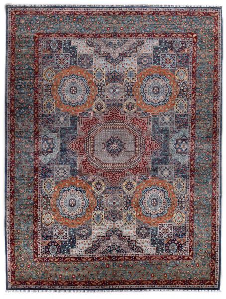 Handgeknüpfter Shawl Teppich aus Ghazni Wolle - besonders fein - Legacy - 278 x 360cm