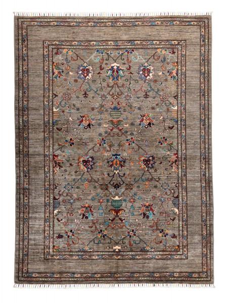 Handgeknüpfter Shawl Teppich aus Ghazni Wolle - Pir Mahal - 175x235cm