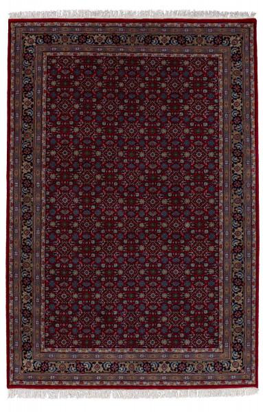 Orientteppich - Benares Herati - handgeknüpft aus Schurwolle mit Fransen