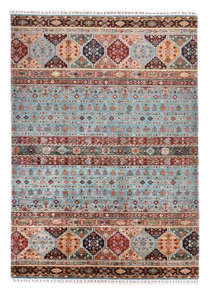 Handgeknüpfter Shawl Teppich aus Ghazni Wolle - Pir Mahal - 214 x 298 cm