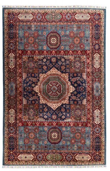 Handgeknüpfter Shawl Teppich aus Ghazni Wolle - besonders fein - Legacy - 206x309cm