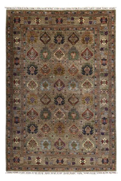 Handgeknüpfter Shawl Teppich aus Ghazni Wolle - Pir Mahal - 172x260 cm