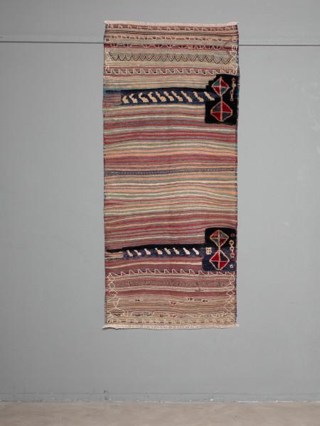 Antiker Kelim Teppich Rose