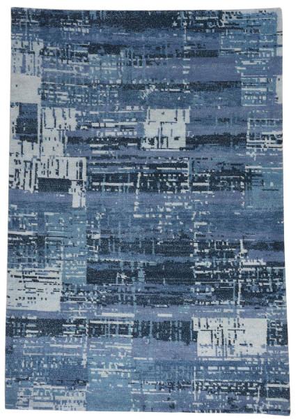 Handgeknüpfter Designerteppich Wolle/Nessel - FINE NATURE - 160 x 231 cm