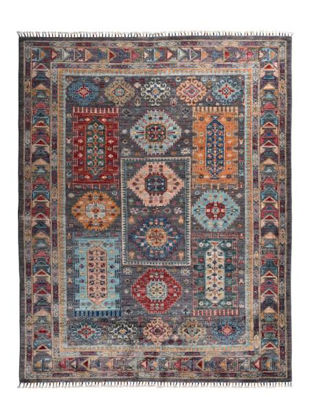 Handgeknüpfter Shawl Teppich aus Ghazni Wolle - Pir Mahal - 158x206cm