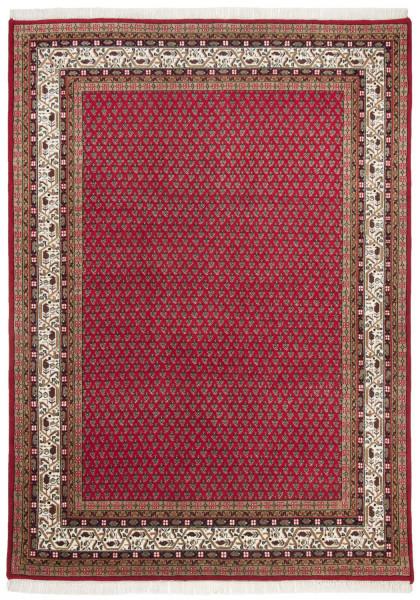 Orientteppich - Chandi Mir - handgeknüpft aus Schurwolle mit Fransen