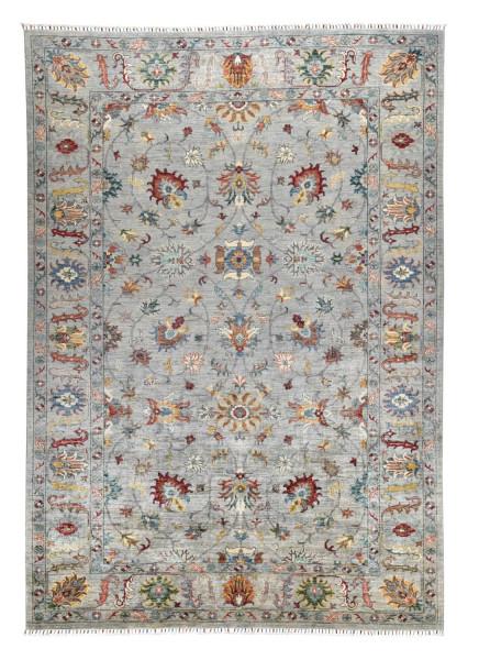 Handgeknüpfter Shawl Teppich aus Ghazni Wolle - Pir Mahal - 210x307cm