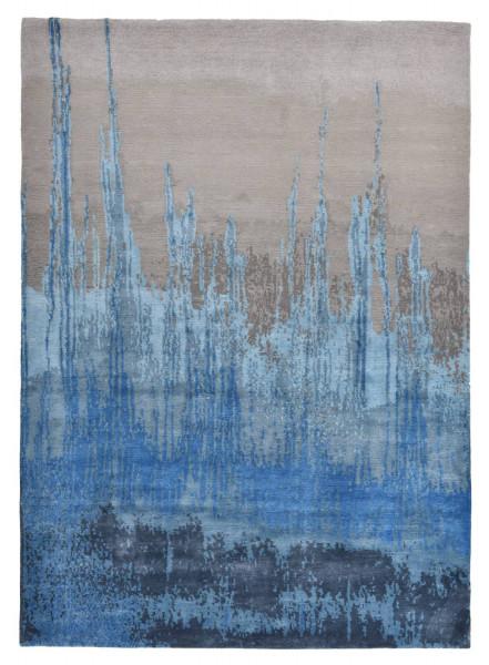 Designerteppich aus robuster Seide und Tibetwolle - Sweet Feet 60 - 172x240cm