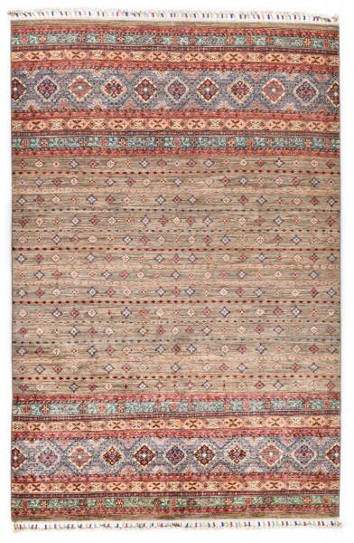 Handgeknüpfter Shawl Teppich aus Ghazni Wolle - Pir Mahal - 174x246cm