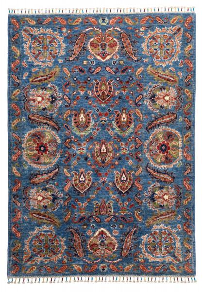 Handgeknüpfter Shawl Teppich aus Ghazni Wolle - besonders fein - Legacy - 208x290cm