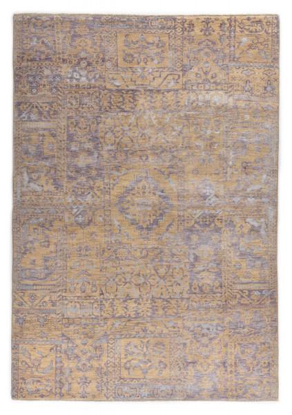 Handgeknüpfter Wollteppich - Vintage Patch 505 - 170x240cm