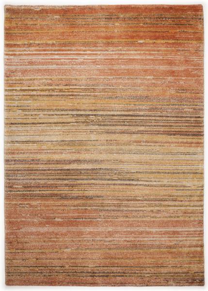 Handgeknüpfter Designerteppich Wolle/Nessel - FINE NATURE - 161 x 230 cm