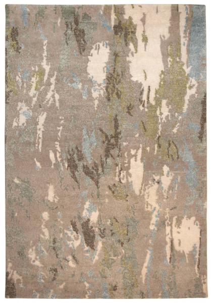 Handgeknüpfter Designerteppich Wolle/Nessel - FINE NATURE - 159 x 230 cm