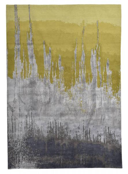 Designerteppich aus robuster Seide und Tibetwolle - Sweet Feet 60 - 171x245cm