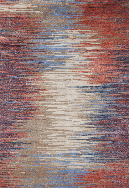 Handgeknüpfter Designerteppich Wolle/Nessel - FINE NATURE - 161 x 233 cm