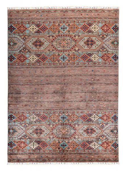 Handgeknüpfter Shawl Teppich aus Ghazni Wolle - Pir Mahal - 176x247cm