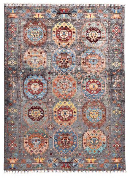 Handgeknüpfter Shawl Teppich aus Ghazni Wolle - Pir Mahal - 157x250cm