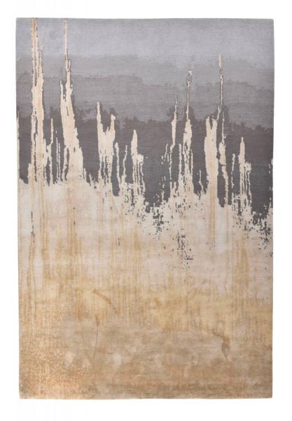 Designerteppich aus robuster Seide und Tibetwolle - Sweet Feet 60 - 173x242cm