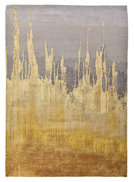 Designerteppich aus robuster Seide und Tibetwolle - Sweet Feet 60 - 174x242cm