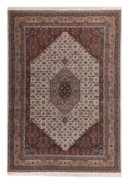 Orientteppich - Benares Bidjar 9 - handgeknüpft aus Schurwolle mit Fransen