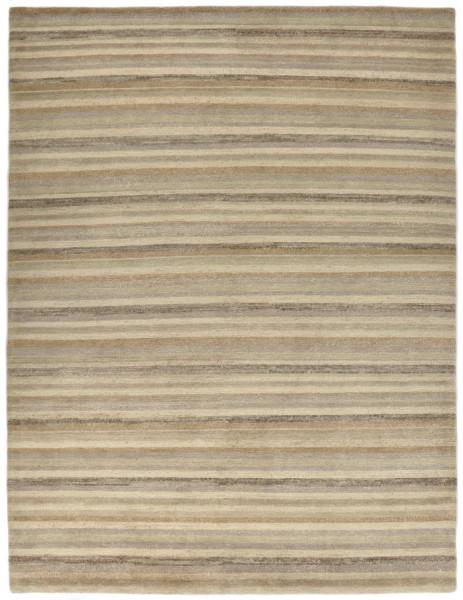 Handgeknüpfter Designerteppich Wolle/Nessel - FINE NATURE - 162 x 234 cm