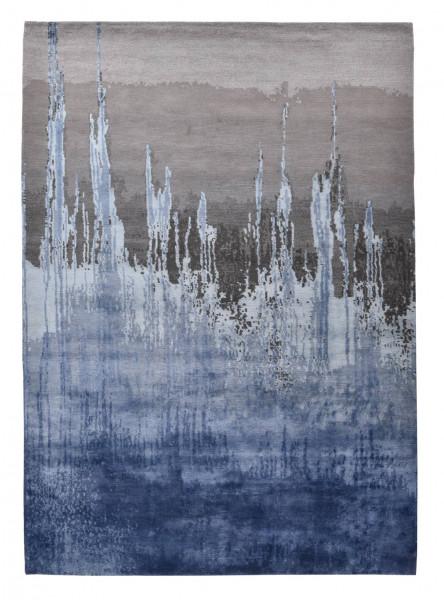 Designerteppich aus robuster Seide und Tibetwolle - Sweet Feet 60 - 173x239cm