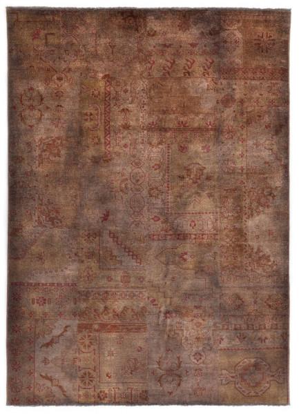Handgeknüpfter Wollteppich - Vintage Patch P504 - 170x240cm