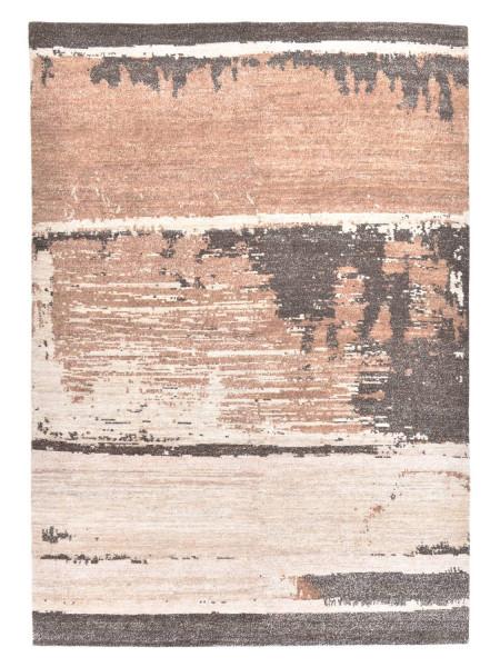 Handgeknüpfter Designerteppich Wolle/Nessel - FINE NATURE - 169x238cm
