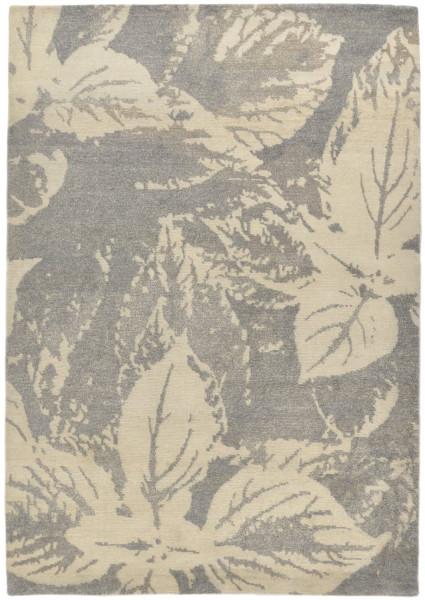 FINE NATURE - 159 x 234 cmHandgeknüpfter Designerteppich Wolle/Nessel -