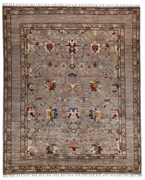 Handgeknüpfter Shawl Teppich aus Ghazni Wolle - Pir Mahal - 248 x 298 cm