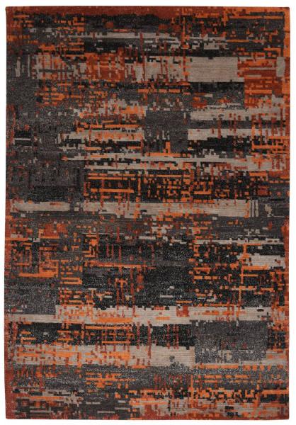 Handgeknüpfter Designerteppich Wolle/Nessel - FINE NATURE - 161x230cm