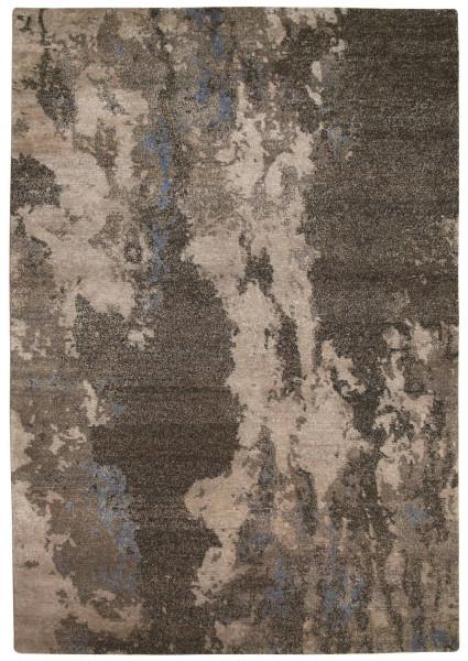 Handgeknüpfter Designerteppich Wolle/Nessel - FINE NATURE - 170 x 240 cm
