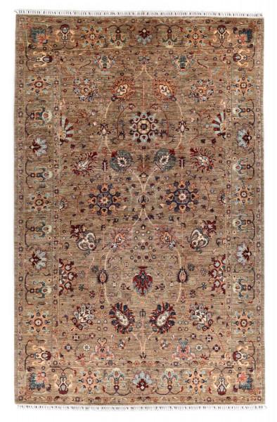 Handgeknüpfter Shawl Teppich aus Ghazni Wolle - Pir Mahal - 211 x 235 cm