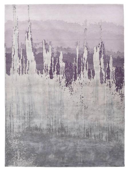 Designerteppich aus robuster Seide und Tibetwolle - Sweet Feet 60 - 174x245cm