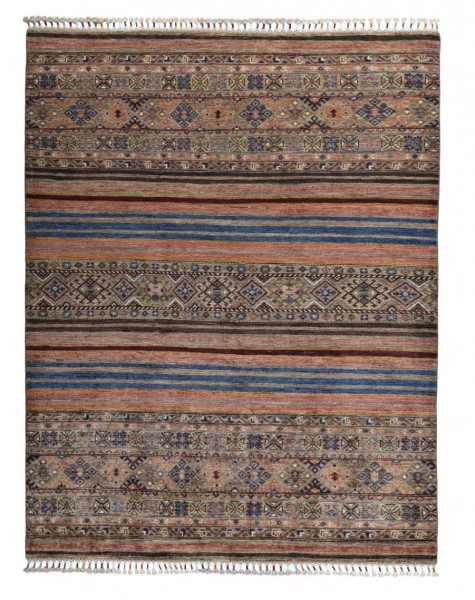 Handgeknüpfter Shawl Teppich aus Ghazni Wolle - Pir Mahal - 153x197 cm