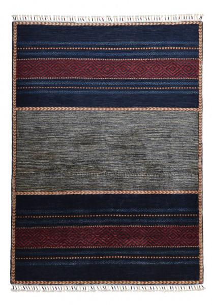 Handgeknüpfter Shawl Teppich aus Ghazni Wolle - Pir Mahal - 128x173 cm
