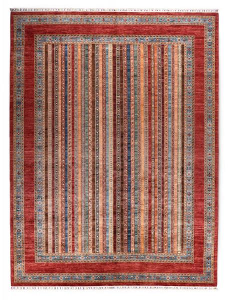 Handgeknüpfter Shawl Teppich aus Ghazni Wolle - Pir Mahal - 269x370cm