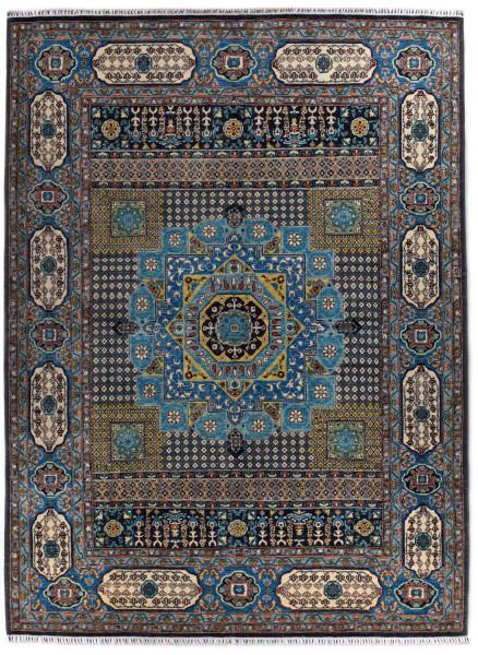 Handgeknüpfter Shawl Teppich aus Ghazni Wolle - besonders fein - Legacy - 275 x 363cm