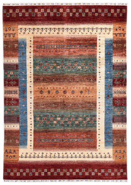 Handgeknüpfter Shawl Teppich aus Ghazni Wolle - Pir Mahal - 174x255cm