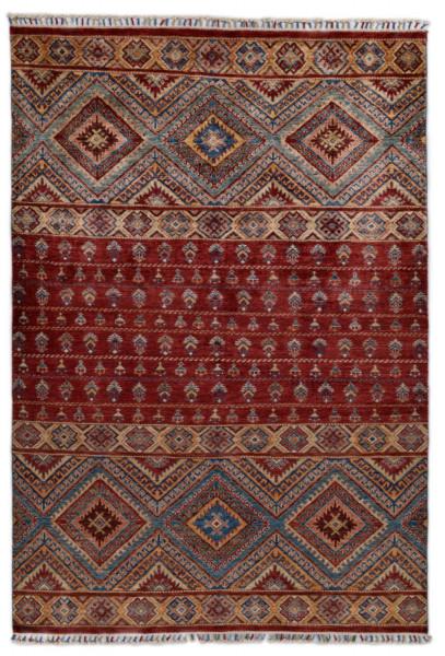 Handgeknüpfter Shawl Teppich aus Ghazni Wolle - Pir Mahal - 170x240cm