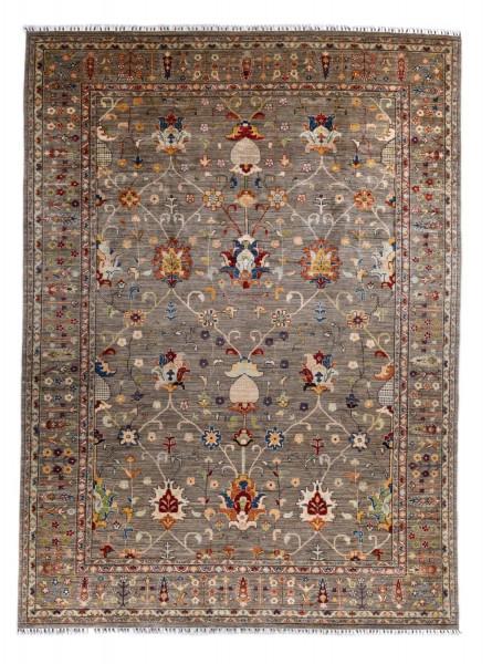 Handgeknüpfter Shawl Teppich aus Ghazni Wolle - Pir Mahal - 277x372 cm