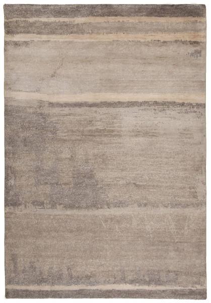 Handgeknüpfter Designerteppich Wolle/Nessel - FINE NATURE - 163 x 229 cm