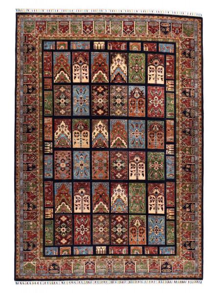 Handgeknüpfter Shawl Teppich aus Ghazni Wolle - besonders fein - Legacy - 207x284cm