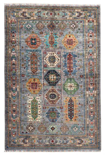 Handgeknüpfter Shawl Teppich aus Ghazni Wolle - Pir Mahal - 177x301cm