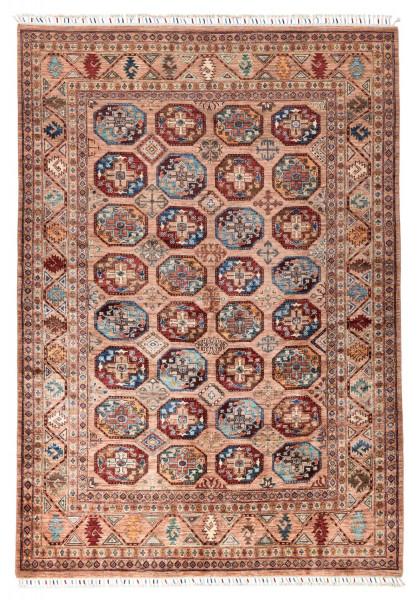 Handgeknüpfter Shawl Teppich aus Ghazni Wolle - Pir Mahal - 179x250cm