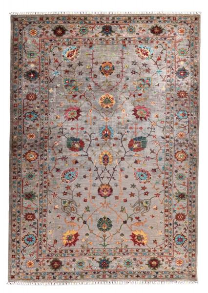 Handgeknüpfter Shawl Teppich aus Ghazni Wolle - Pir Mahal - 204x308cm