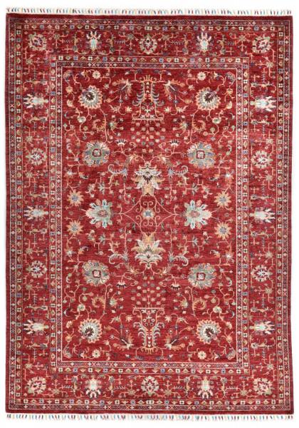 Handgeknüpfter Shawl Teppich aus Ghazni Wolle - Pir Mahal - 210 x 296 cm